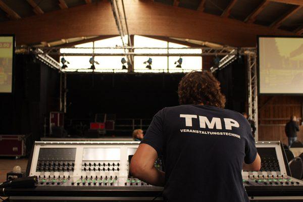 FOH Veranstaltungstechnik TMP Live Konzert