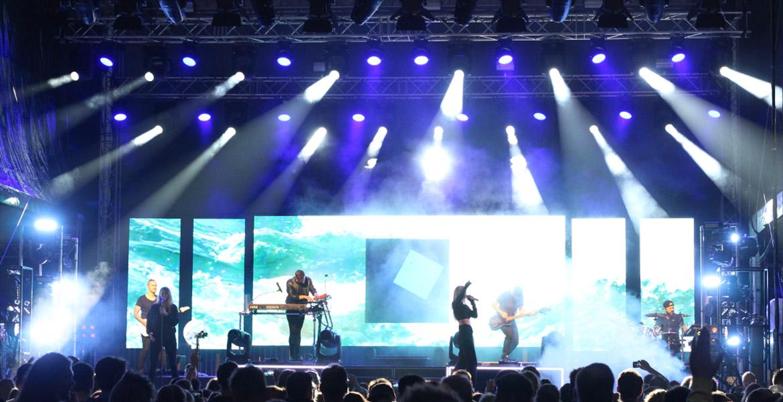 TMP Veranstaltungstechnik Glasperlenspiel Konzert