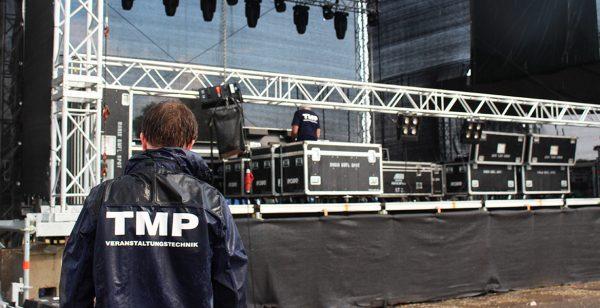 Bühne Aufbau Veranstaltung Veranstaltungstechnik Live Konzert