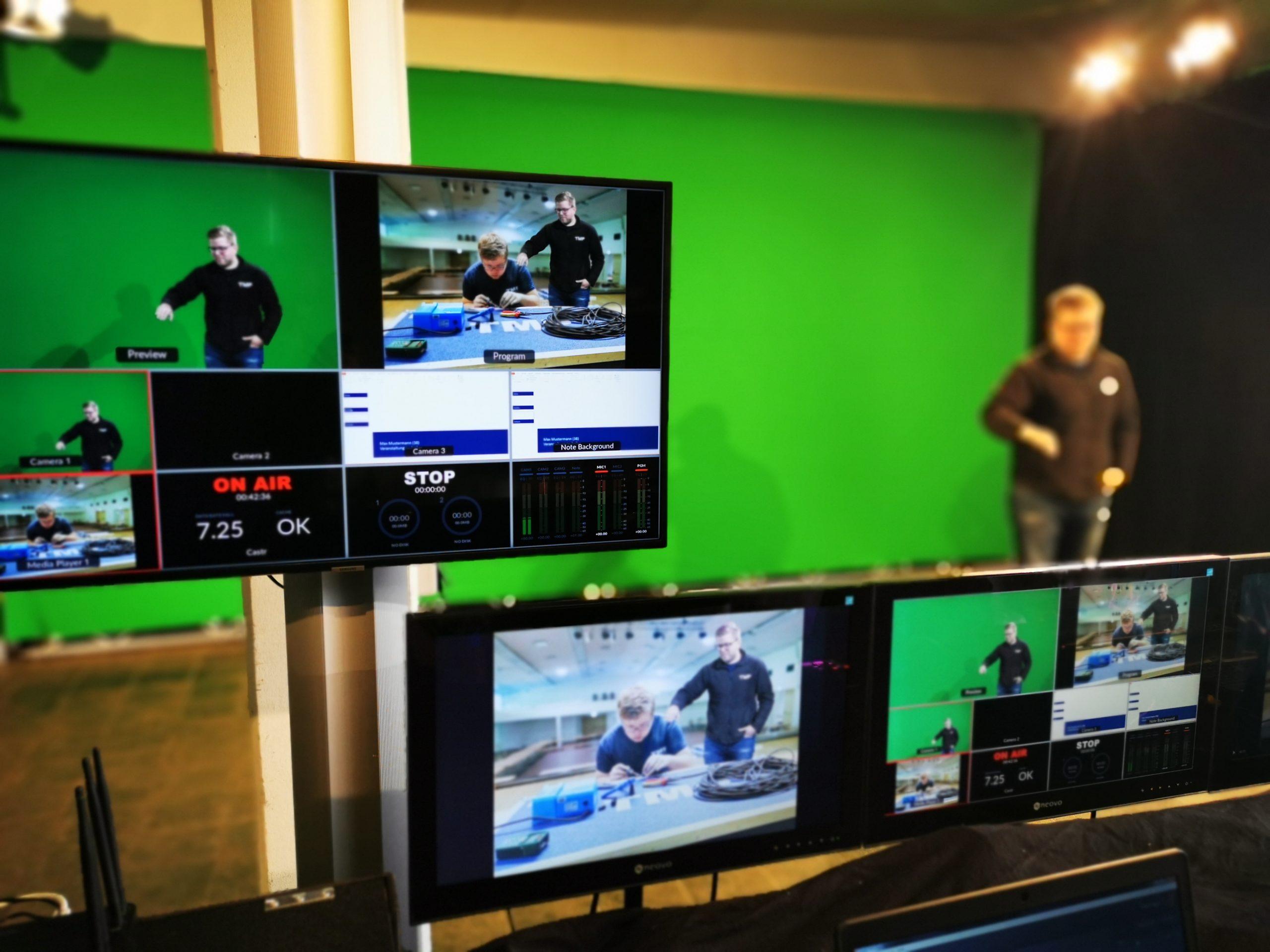 TMP Live Streaming Green Screen Braunschweig