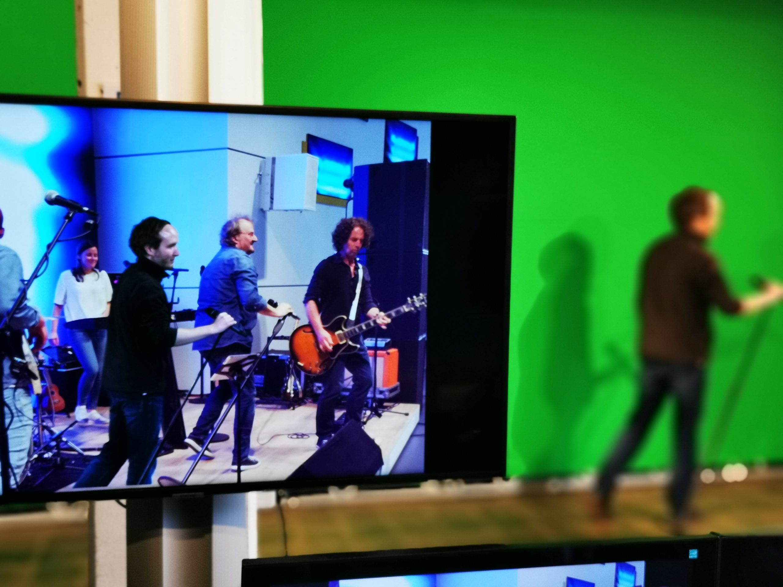 TMP Live Streaming Green Screen Hannover