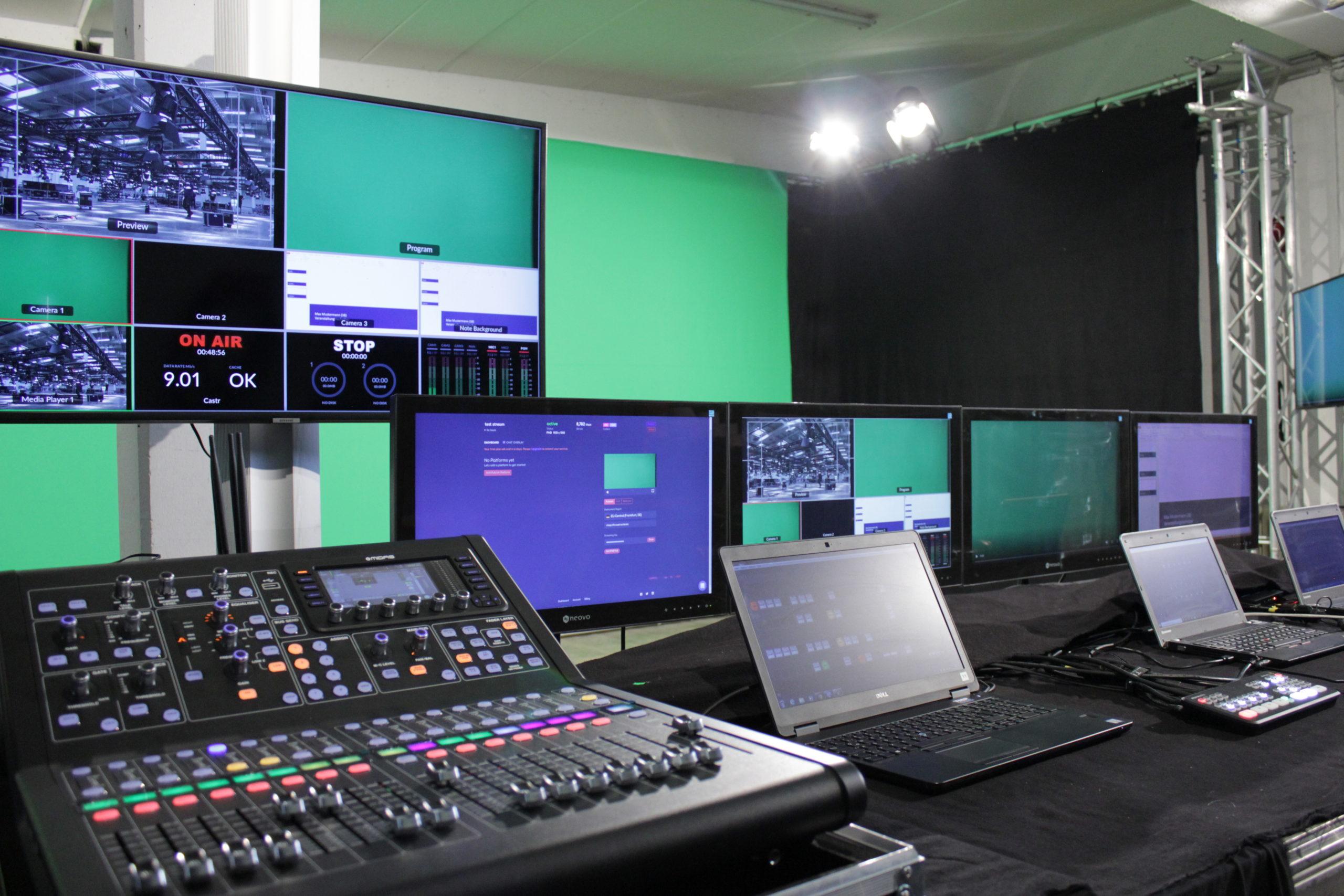 TMP Live Streaming Studio Regie